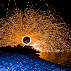 circle by Lucijan Španić - Abstract Light Painting ( light painting )