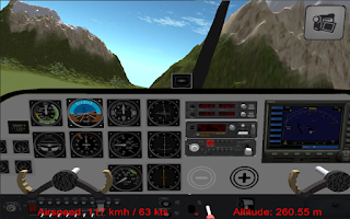 Screenshot of Flight Simulator Cezna Free