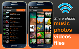 Screenshot of WiFi File Share FREE