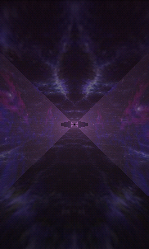 Runner in the UFO - Visualizer Screenshot