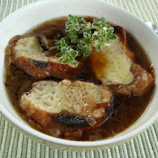 French Onion Soup With Cider