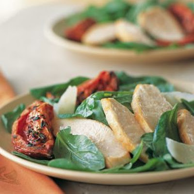 Chicken and Roasted Tomato Salad