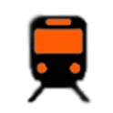 Orange Line Boston Subway MBTA icon