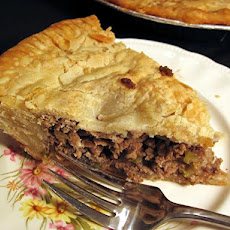 Tourtiere (French Canadian Meat Pie) - Dairy Free