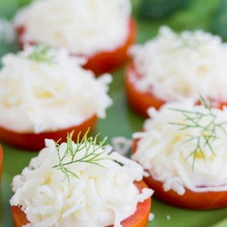 Easy Tomato and Cheese Appetizer
