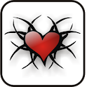 Tribal Heart doo-dad icon