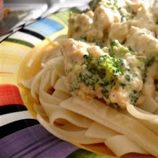 Healthier Slow Cooker Chicken Stroganoff