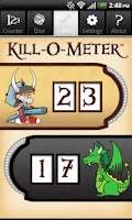 Screenshot of Munchkin Level Counter