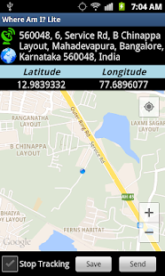 GPS Location Manager - screenshot
