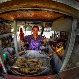 by Irwan Budiman - City,  Street & Park  Street Scenes