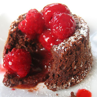 Mini Molten Chocolate Cakes