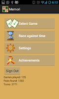 Screenshot of Memori - Memory Game