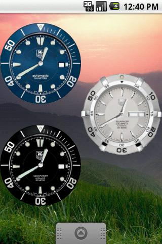 TagHeuer Aquaracer Clock
