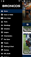 Screenshot of Denver Broncos 365