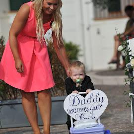 good boy by Frédéric Deleuse Photographe - Wedding Ceremony ( wedding )