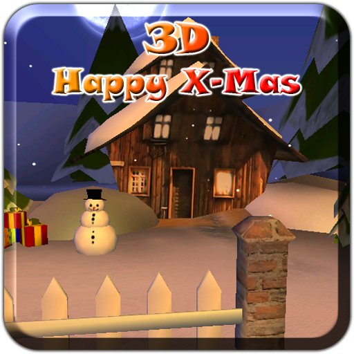 3D Happy X-Mas Lite 個人化 App LOGO-APP開箱王