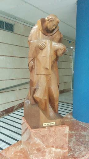 Estatua De Madera De San Juan Grande