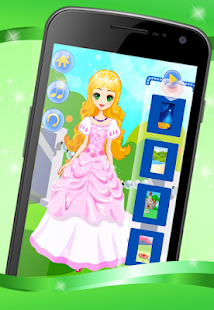 Glamourous Princess Dress Up - screenshot