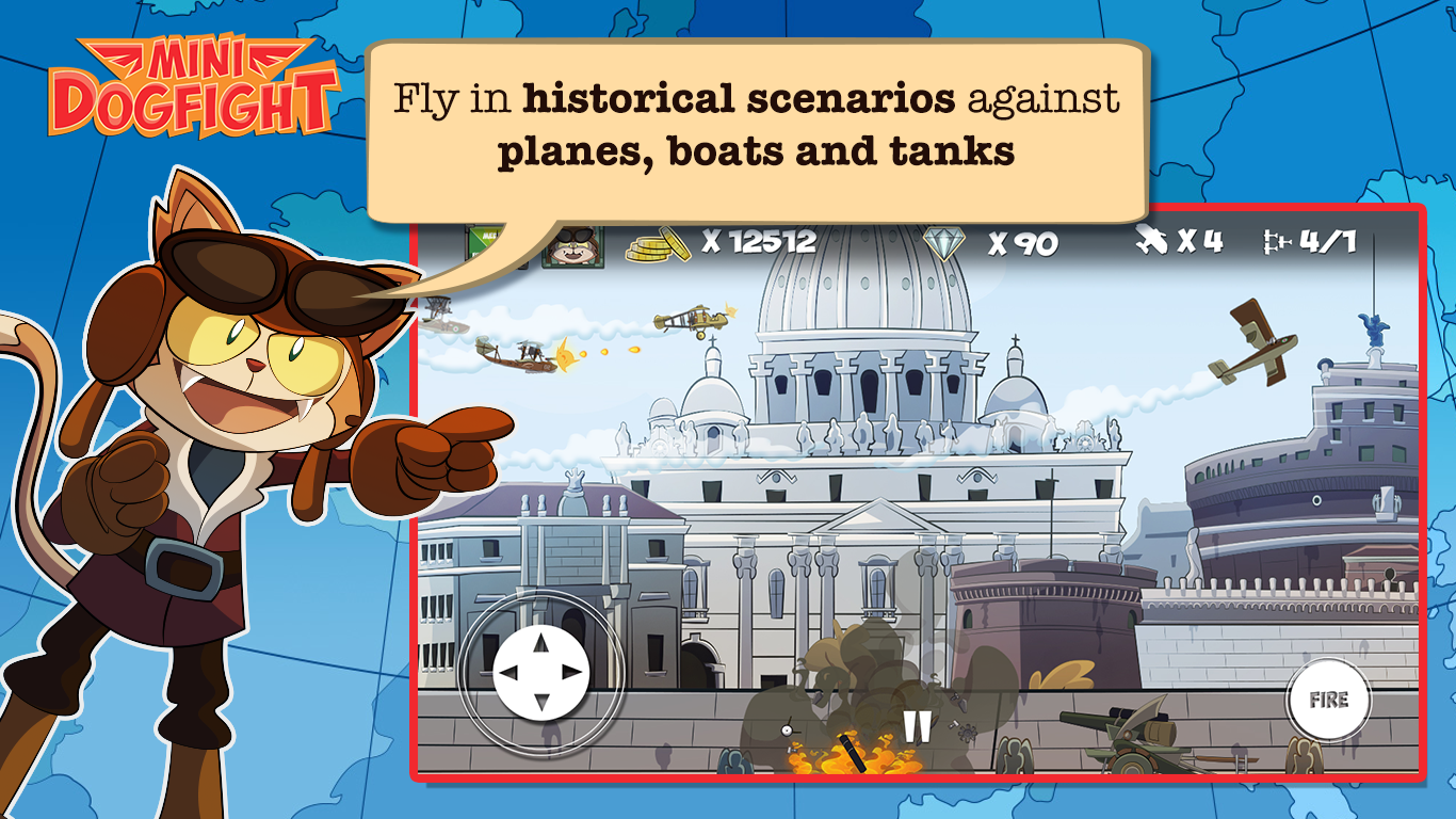 Mini Dogfight Screenshot 18