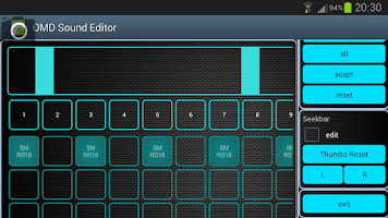 Screenshot of OMD Sound Editor Lite