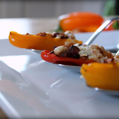 Mini Chorizo Stuffed Peppers