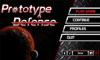 Screenshot of Prototype Defense Lite