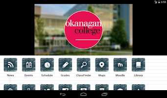 Screenshot of Okanagan College