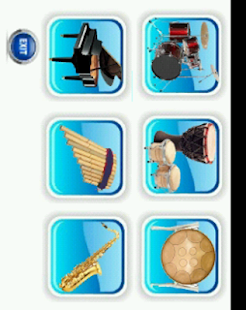 Musical instruments - screenshot