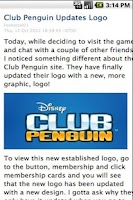 Screenshot of Club Penguin Cheats App