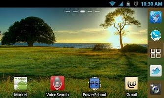 Screenshot of Spring Go Launcher EX Theme