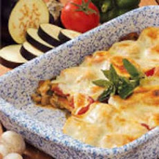 Cheesy Eggplant Bake