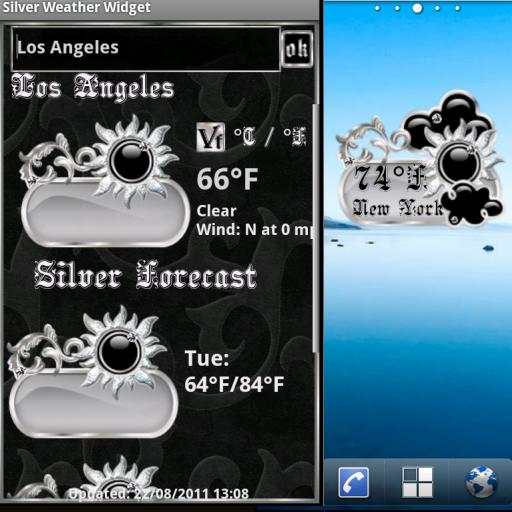 銀天氣小工具 天氣 App LOGO-APP試玩