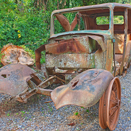 Rusty by Dirk Luus - Transportation Other ( old, vintage, automobile, vehicle, rusted )