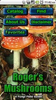 Screenshot of Roger Phillips Mushrooms Lite