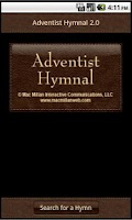 Screenshot of Adventist Hymnal