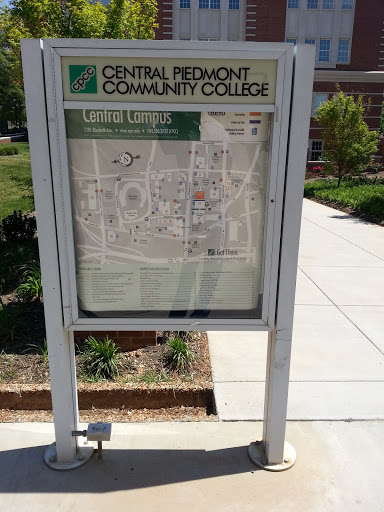 Cpcc Main Campus Map.Cpcc Central Campus Map Portal In Cherry North Carolina United