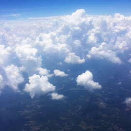 Birds Eye View by Matt Franklin - Landscapes Cloud Formations ( clouds, sky, nature, horizon, earth )