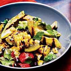 Grilled Corn, Poblano, and Black Bean Salad