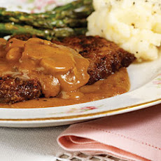 Baked Steak with Gravy