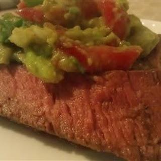 Flank Steak With Avocado Salsa Recipes