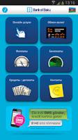 Screenshot of Bank of Baku Mobile