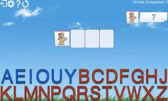 Screenshot of Montessori Words & Phonics