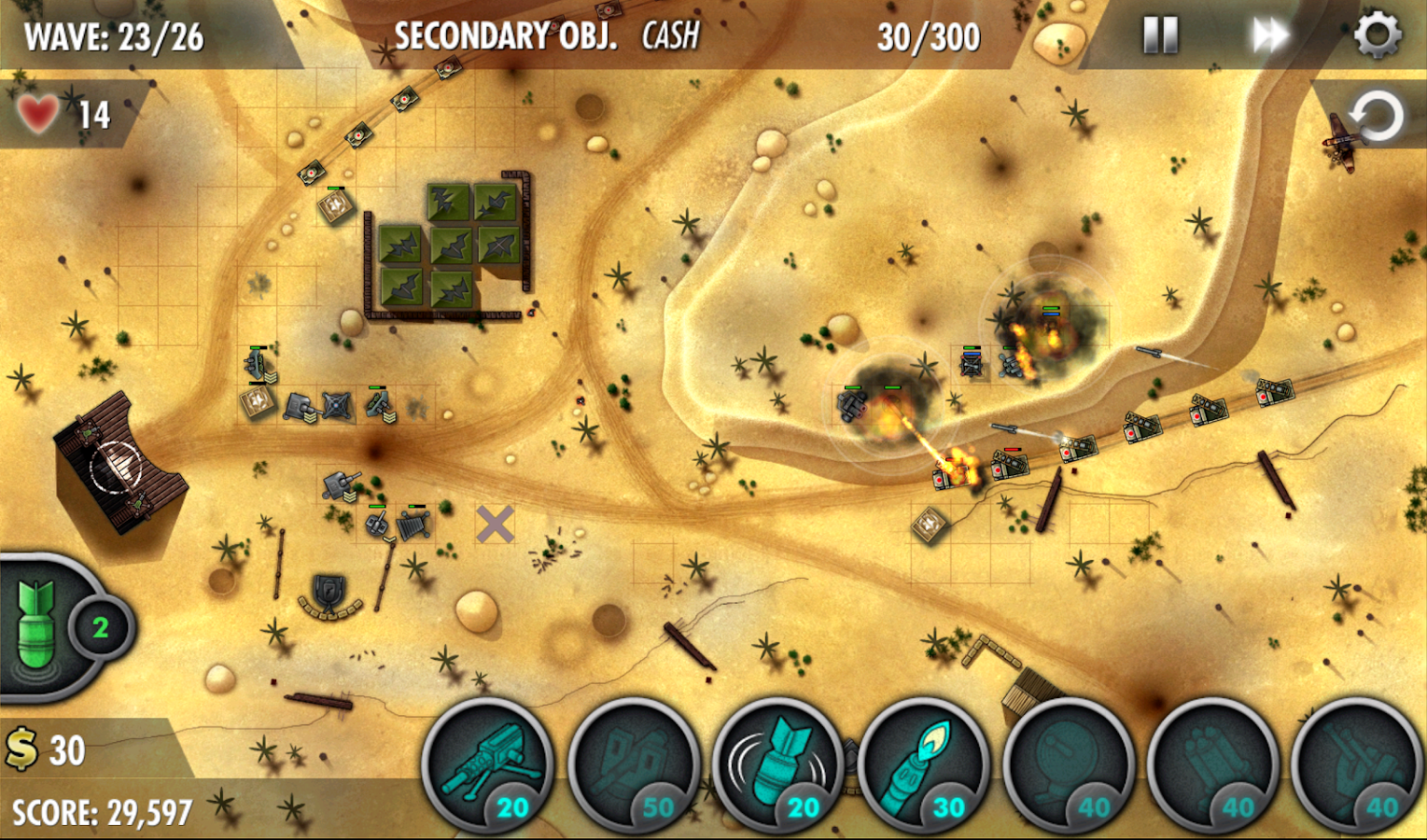 iBomber Defense Pacific Screenshot 9