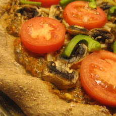 Vegetarian/Vegan Pizza (No Cheese)