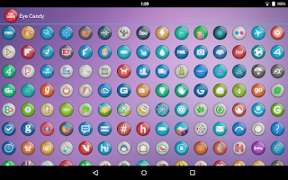 Screenshot of Eye Candy Multilauncher Theme