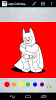 Screenshot of Coloring Page Lego