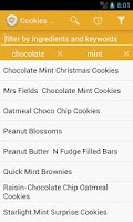 Screenshot of Cookies Recipes