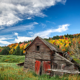 Abandoned Vermont by David Long - Buildings & Architecture Decaying & Abandoned ( stowe, abandoned barn, vermont )