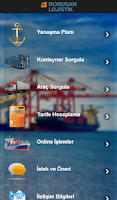 Screenshot of Borusan Port Mobile