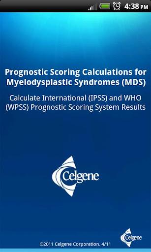 Prognostic Scoring Calculation